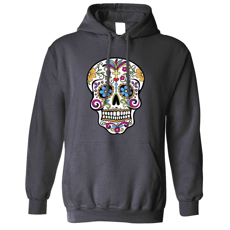 Day Of The Dead Unisex Hoodie Mexican Sugar Skull