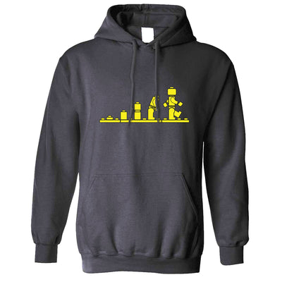 Bricks Evolution Retro Hoodie Novelty Toy Hooded Jumper