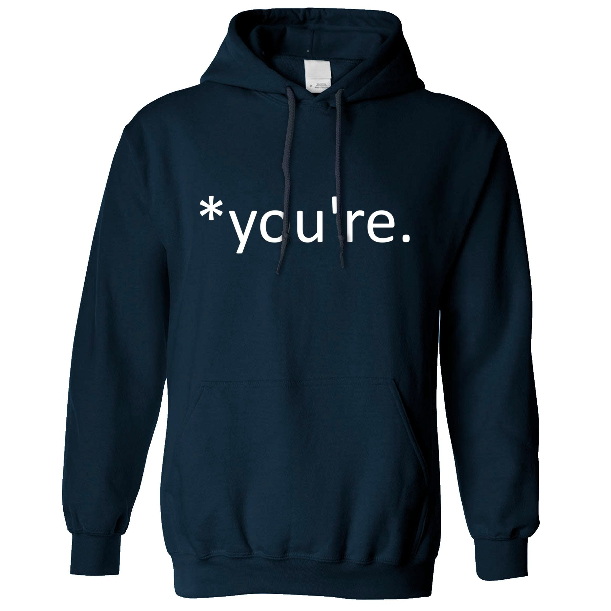 Correction of the Proper 'You're' Funny Hoodie Joke Hooded Jumper