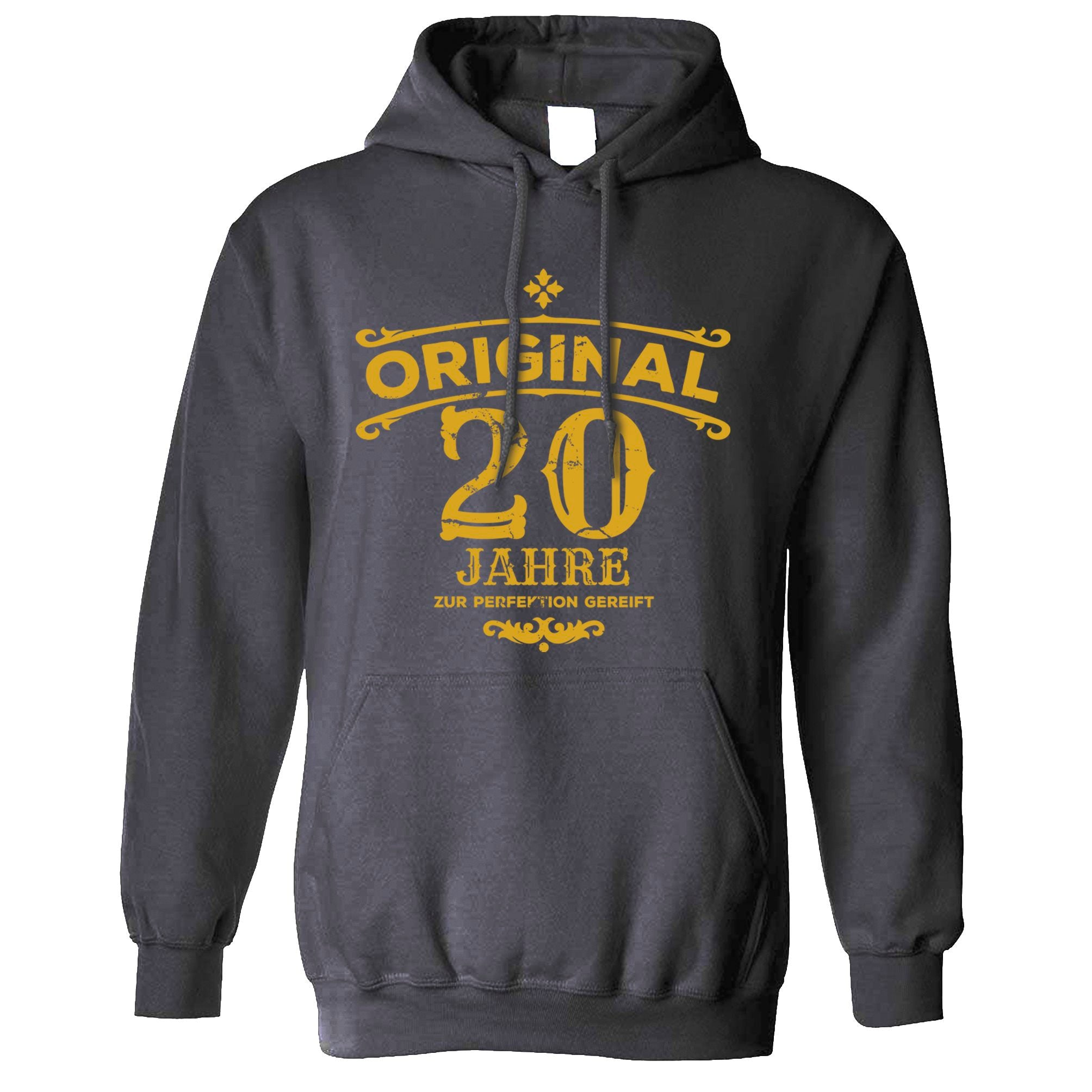 20th Birthday Hoodie Original Aged 20 Twenty Years Hooded Jumper