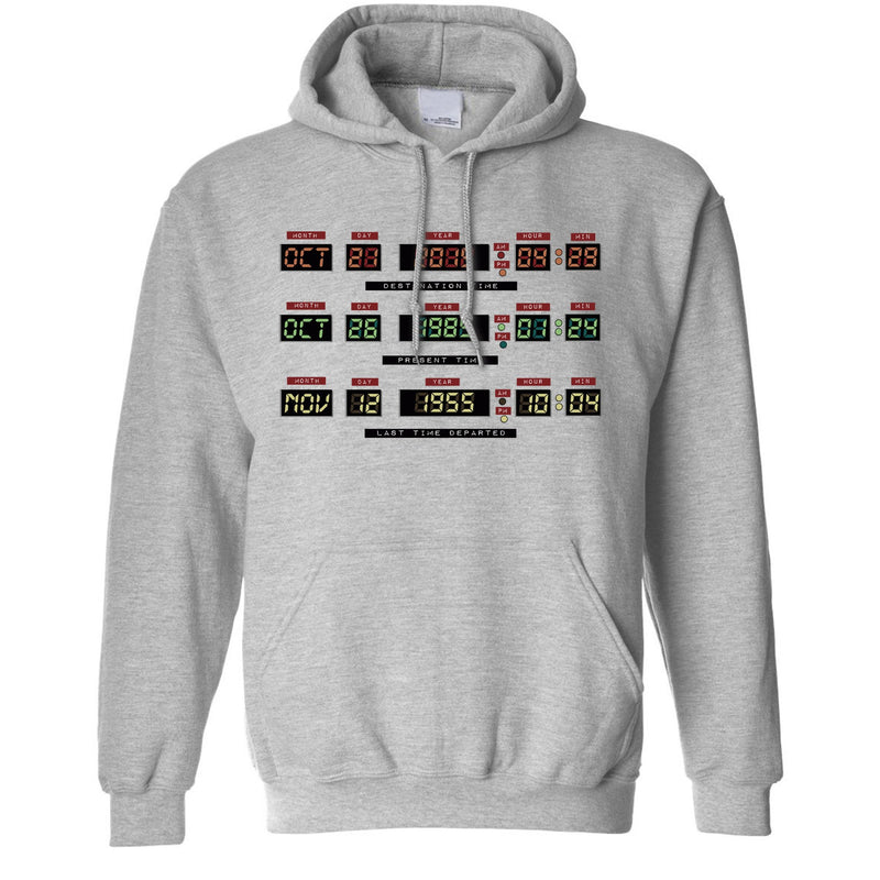 Time Travel Control Panel Hoodie