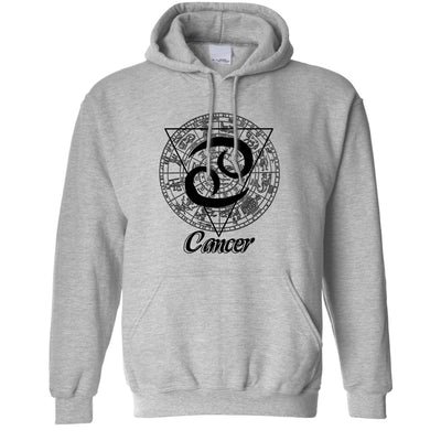 Horoscope Hoodie Cancer Zodiac Star Sign Birthday Hooded Jumper