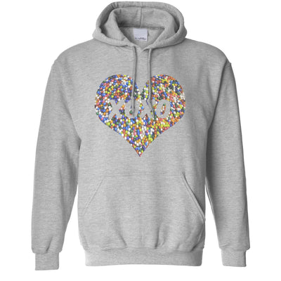 Sweetheart Hoodie XOXO Love And Kisses Logo Hooded Jumper