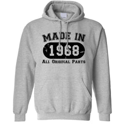 Made in 1968 All Original Parts Hoodie [Distressed]