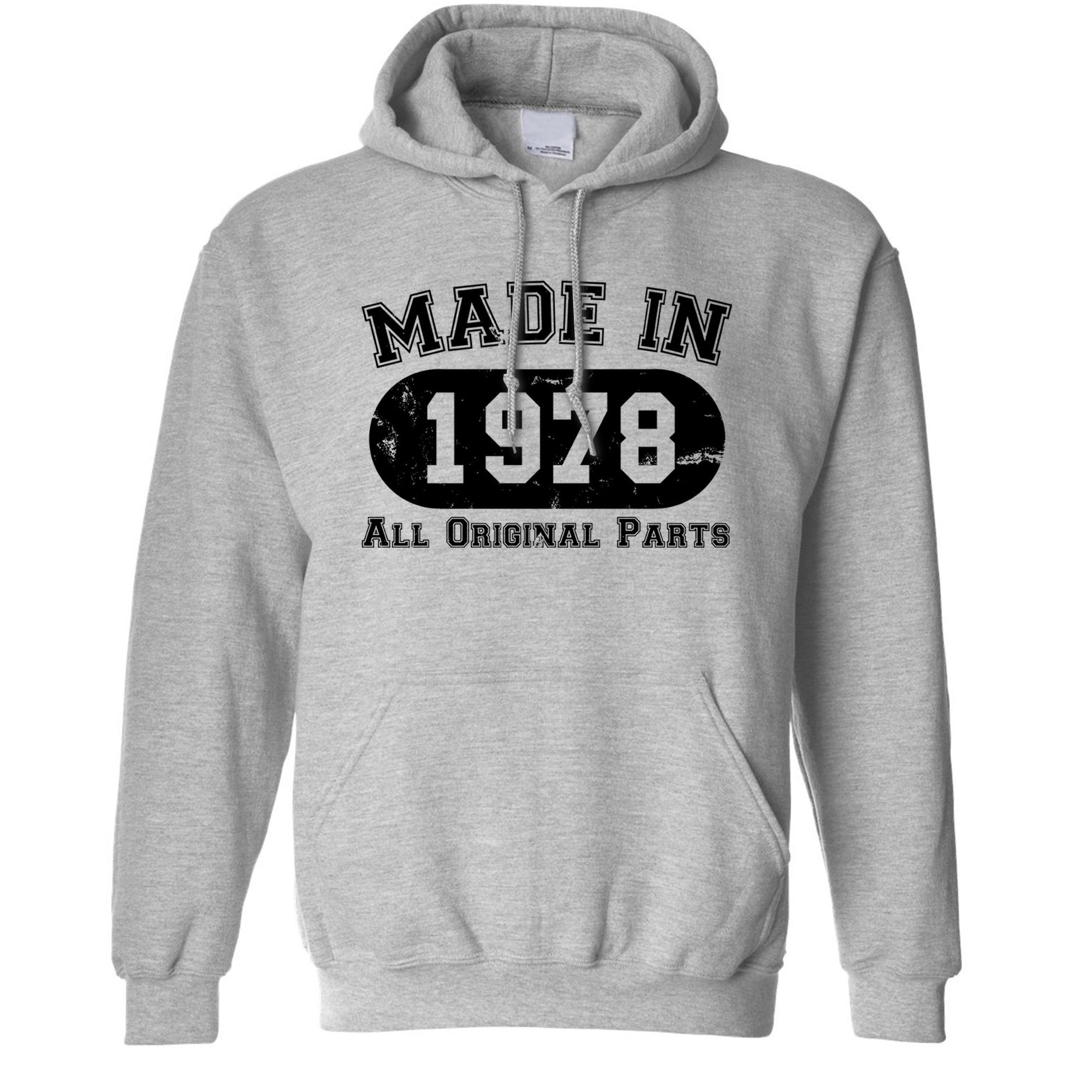 Made in 1978 All Original Parts Hoodie [Distressed]