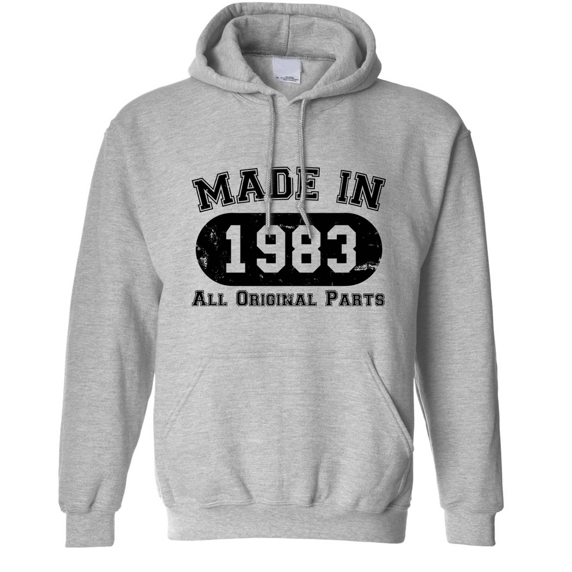 Made in 1983 All Original Parts Hoodie [Distressed]