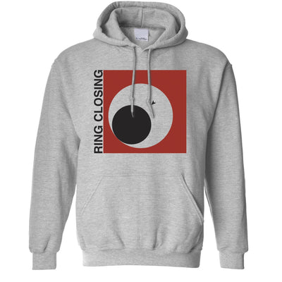 Novelty Gaming Hoodie Ring Closing Design Hooded Jumper