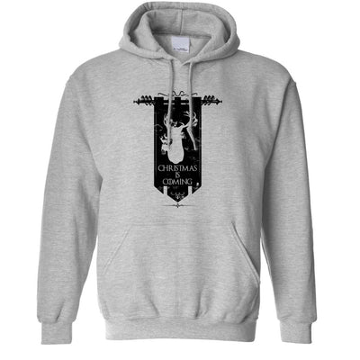 TV Parody Hoodie Winter Christmas Is Coming Hooded Jumper