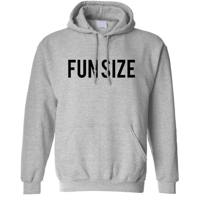 Short Person Hoodie Fun Size Novelty Slogan Hooded Jumper