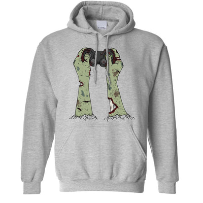 Halloween Gaming Hoodie Zombie Gamer With Controller Hooded Jumper