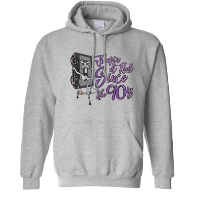 90's Birthday Hoodie Keeping It Real SInce The 90's Hooded Jumper