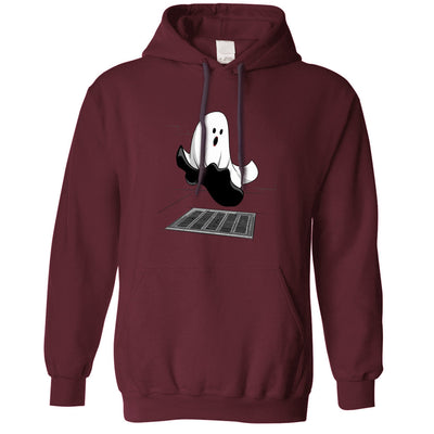 Halloween Hoodie Iconic Monroe Ghost Parody Hooded Jumper