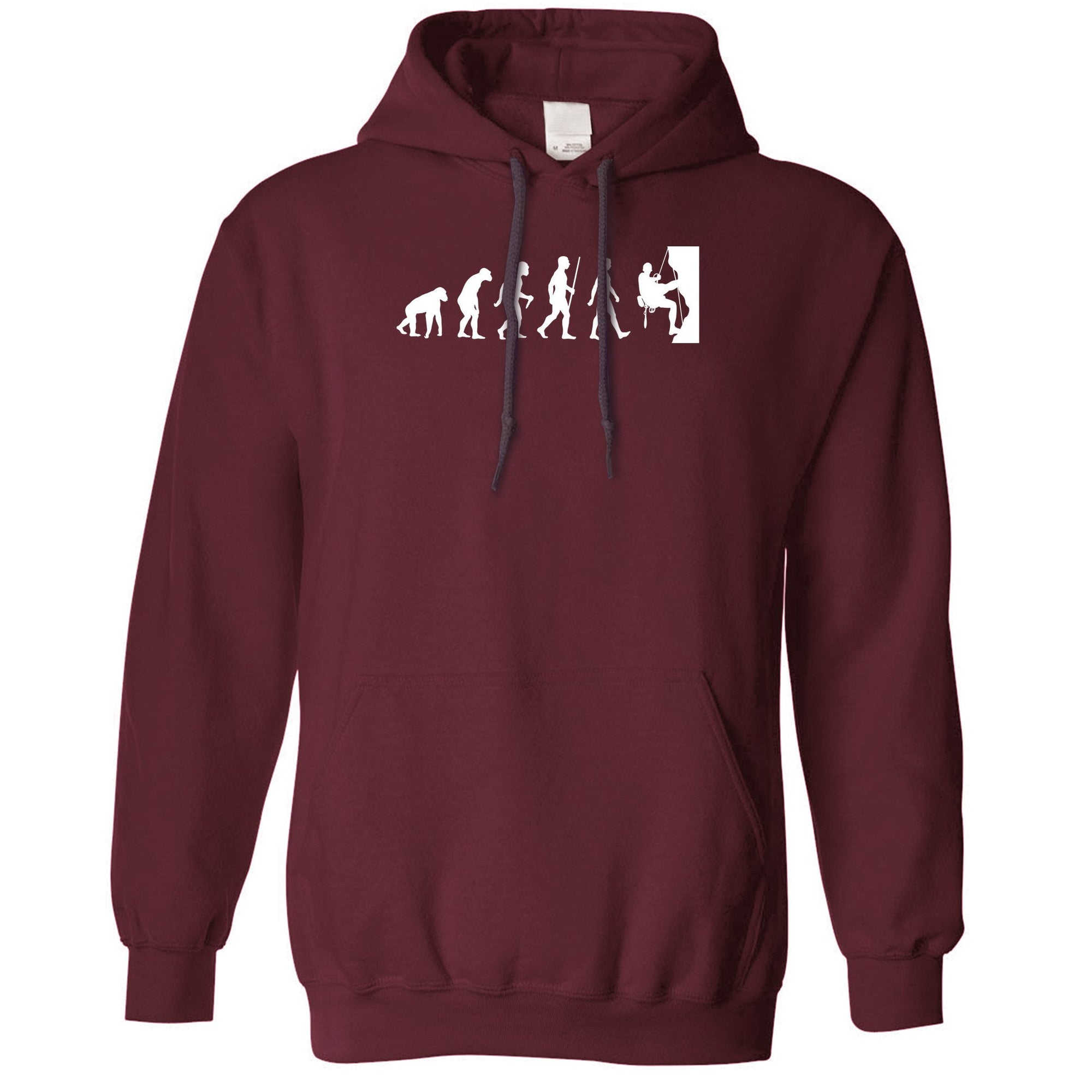 Sports Hoodie The Evolution Of Rock Climbing Hooded Jumper