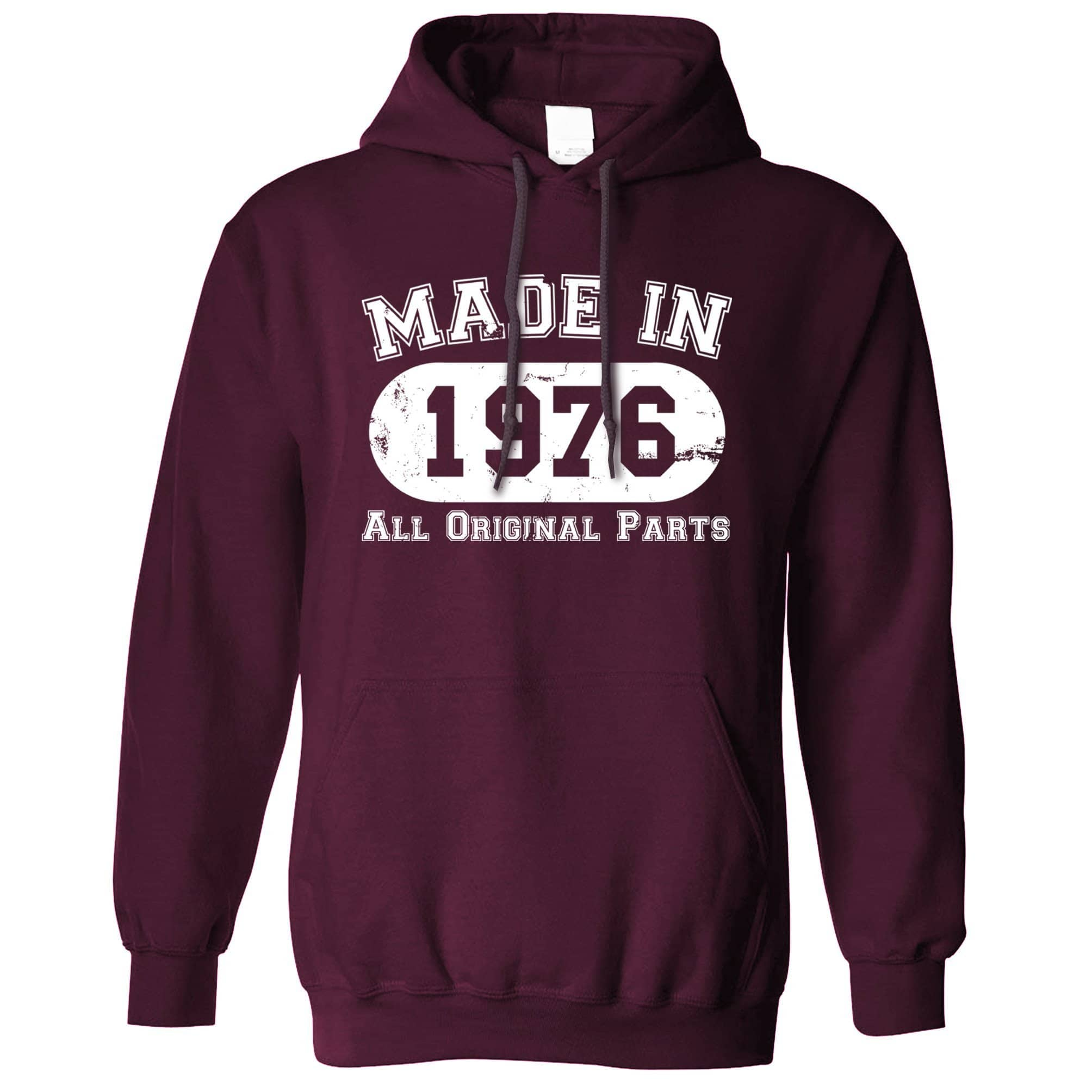 Made in 1976 All Original Parts Hoodie [Distressed]