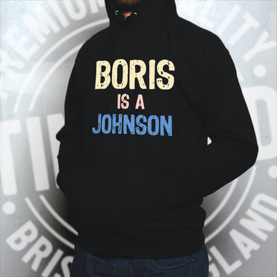 Boris Johnson Hoodie Hood Political Prime Minister Opinion