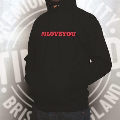 I LOVE YOU Romantic Unisex Hoodies for Couples