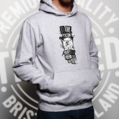 Pet Hoodie Be Who Your Best Friend Thinks You Are Hooded Jumper