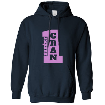 Number 1 Super Gran Grandma Nan Grandmother's Day Grandchildren Hoodie