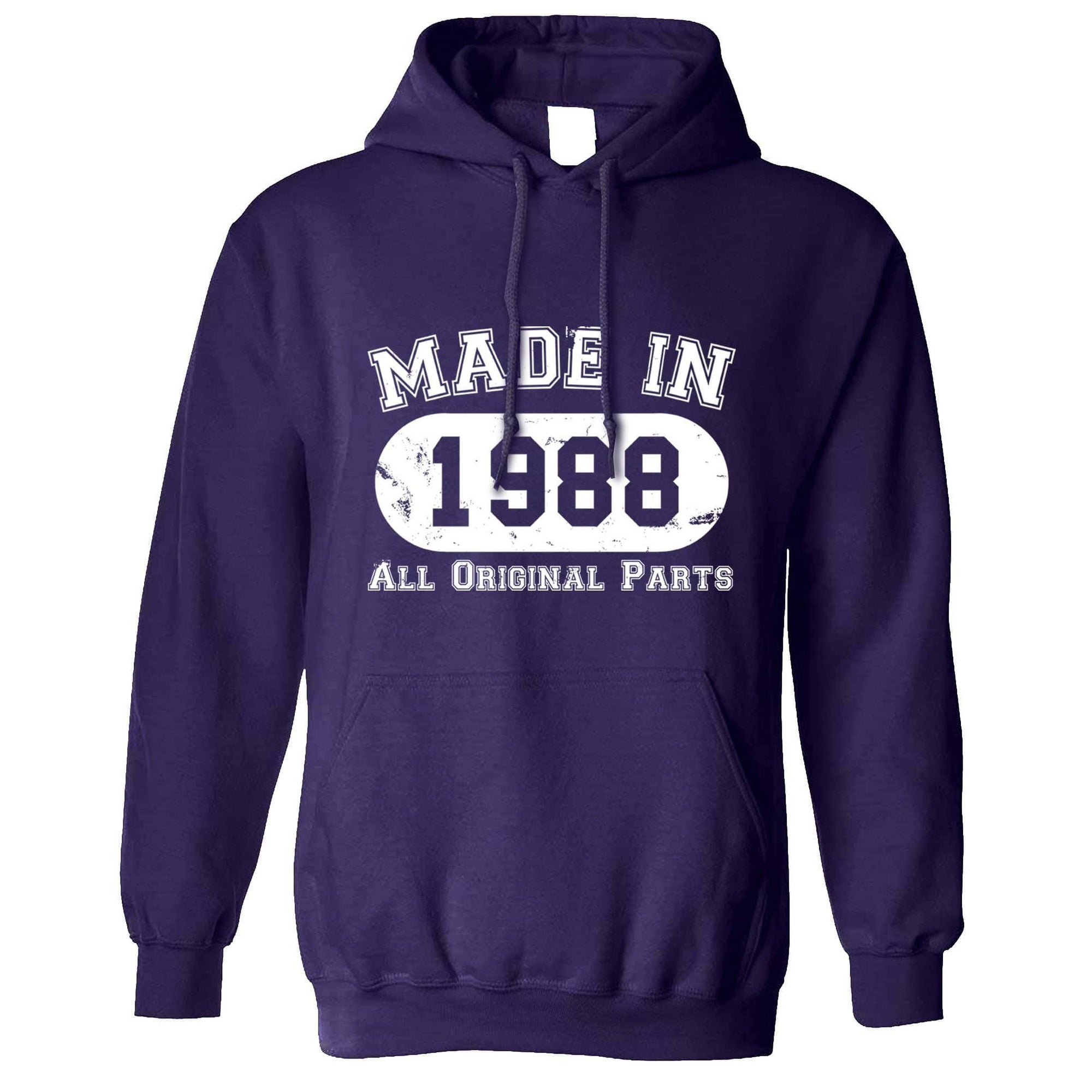 Made in 1988 All Original Parts Hoodie [Distressed]