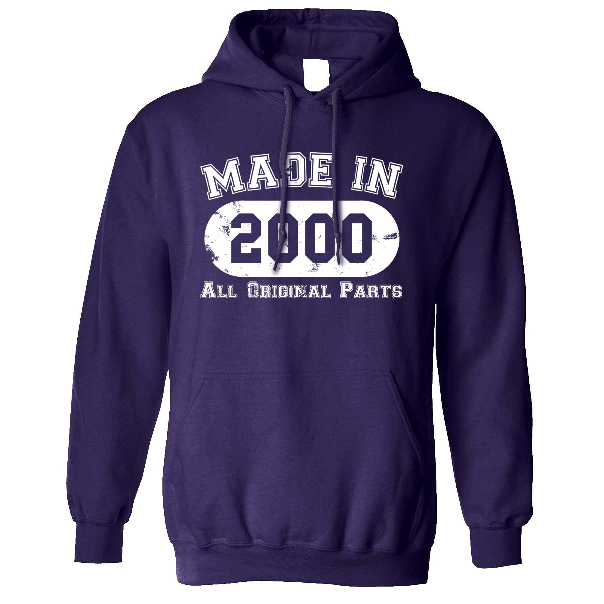 Made in 2000 All Original Parts Hoodie [Distressed]