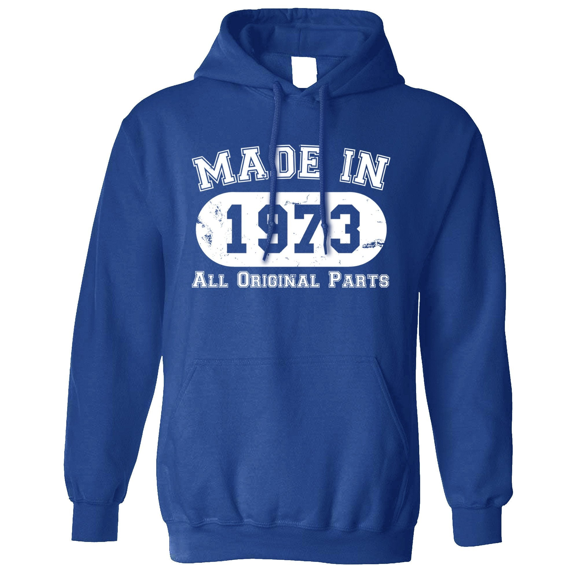 Made in 1973 All Original Parts Hoodie [Distressed]