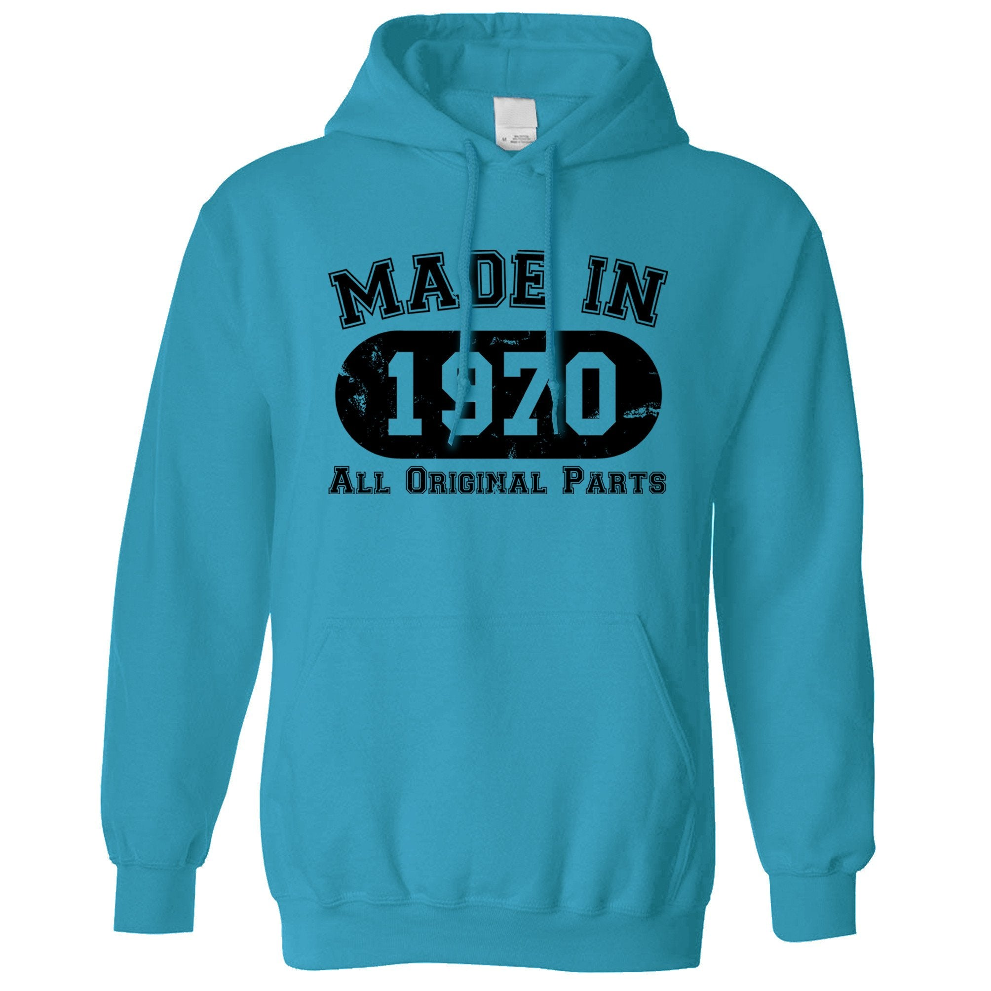 Made in 1970 All Original Parts Hoodie [Distressed]