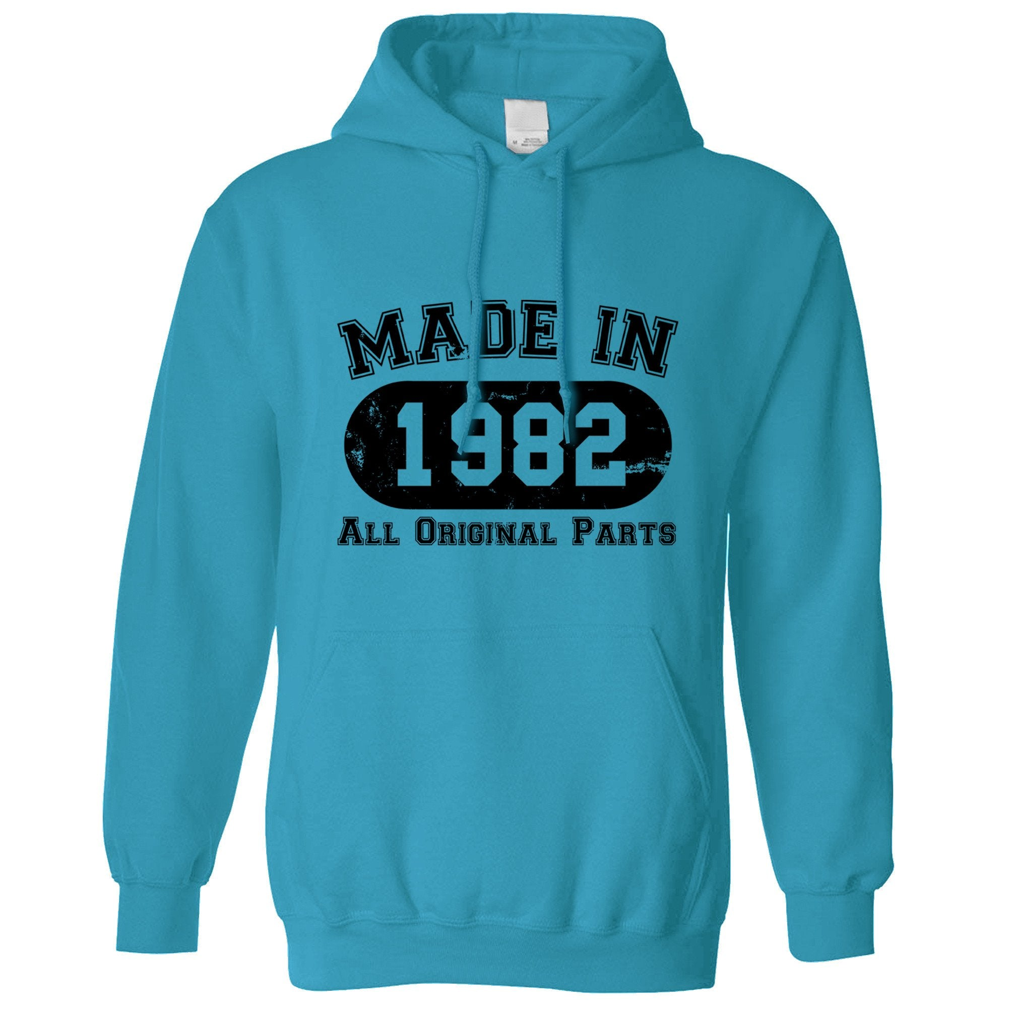 Made in 1982 All Original Parts Hoodie [Distressed]