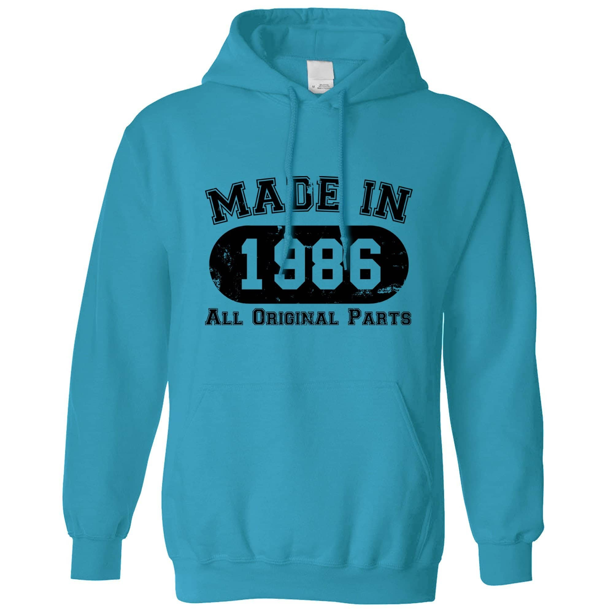 Made in 1986 All Original Parts Hoodie [Distressed]