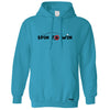 Table Tennis Hoodie Spin To Win Hooded Jumper