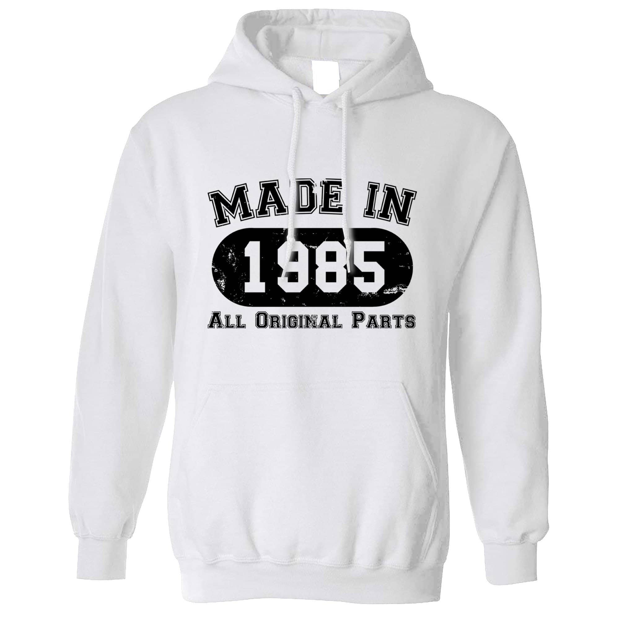 Made in 1985 All Original Parts Hoodie [Distressed]