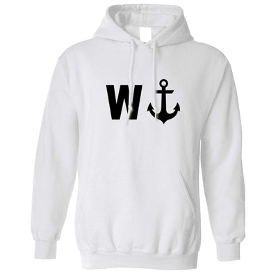 Rude Novelty Hoodie W And An Anchor Hooded Jumper