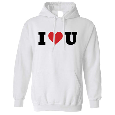 Valentine's Day Hoodie I Heart You U