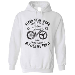 Cycling Unisex Hoodie Fixed Gear Gang Cyclist Biker