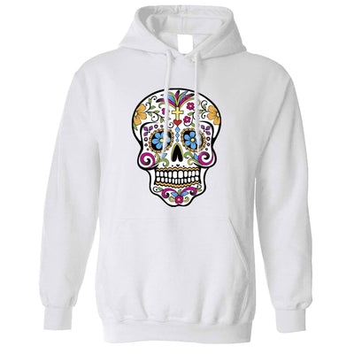 Day Of The Dead Hoodie Mexican Sugar Skull Hooded Jumper