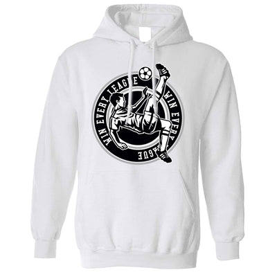 Football Hoodie Win The League Motivation Hooded Jumper