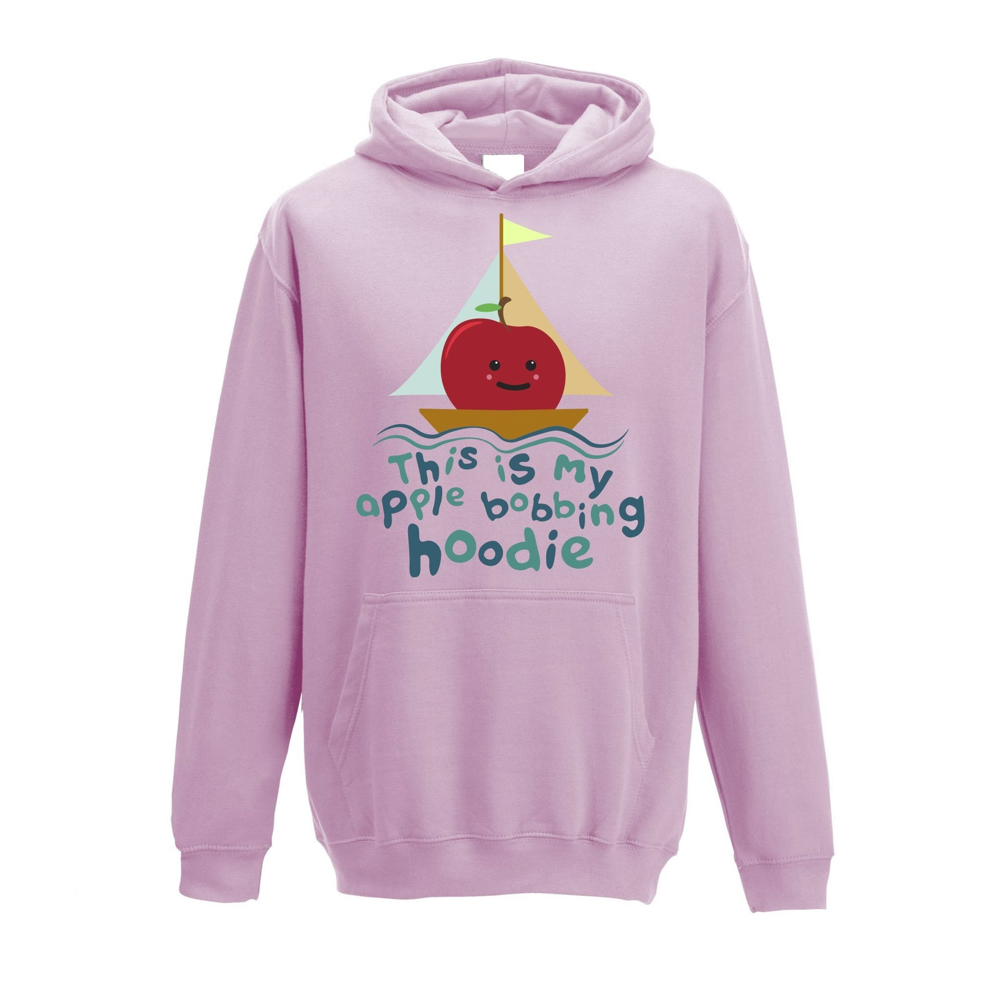This Is My Apple Bobbing Halloween Kids Hoodie Costume Childs
