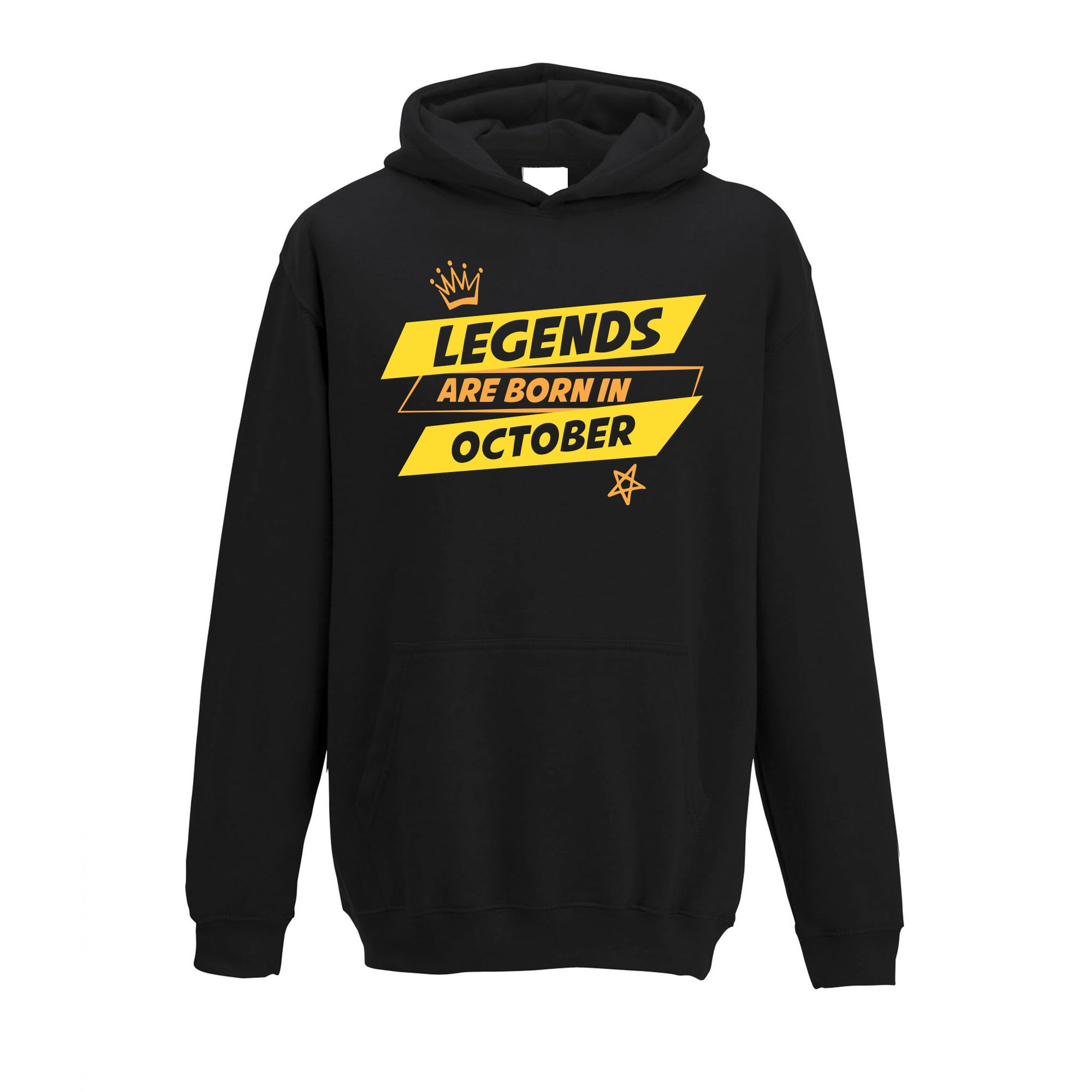 Birthday Kids Hoodie Legends Are Born In October kids Childs