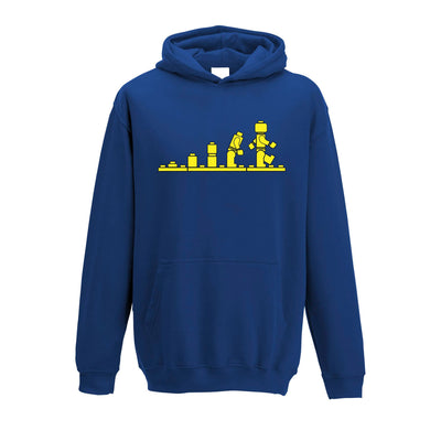 Bricks Evolution Retro Kids Hoodie Novelty Toy Childs