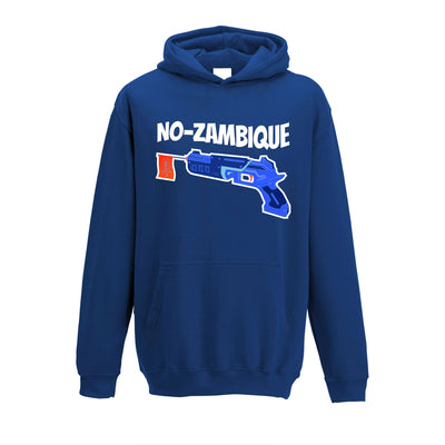 Funny Gaming Kids Hoodie Mozambique Shotgun Joke Childs
