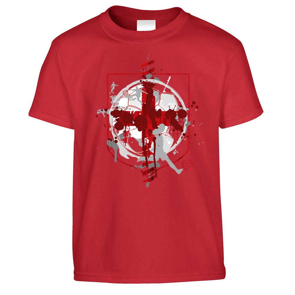 World Cup Kid's T Shirt England Flag Football Crest Of Arms