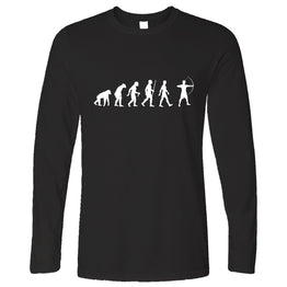 Novelty Long Sleeve The Evolution of Archery
