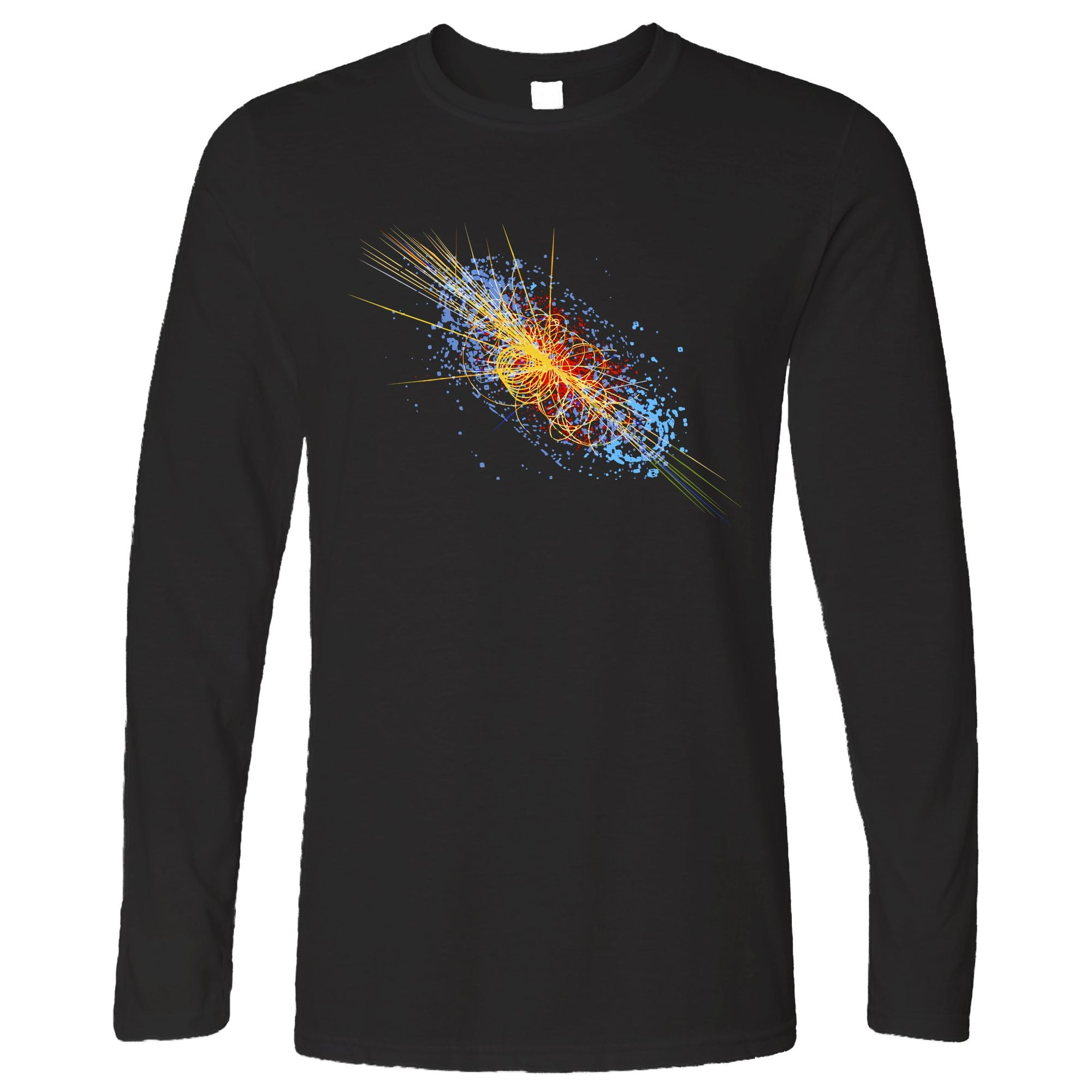 Particle Physics Long Sleeve Higgs Boson Discovery Art