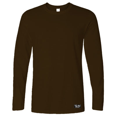 Tim and Ted Logo Premium Plain Long Sleeve Apparel