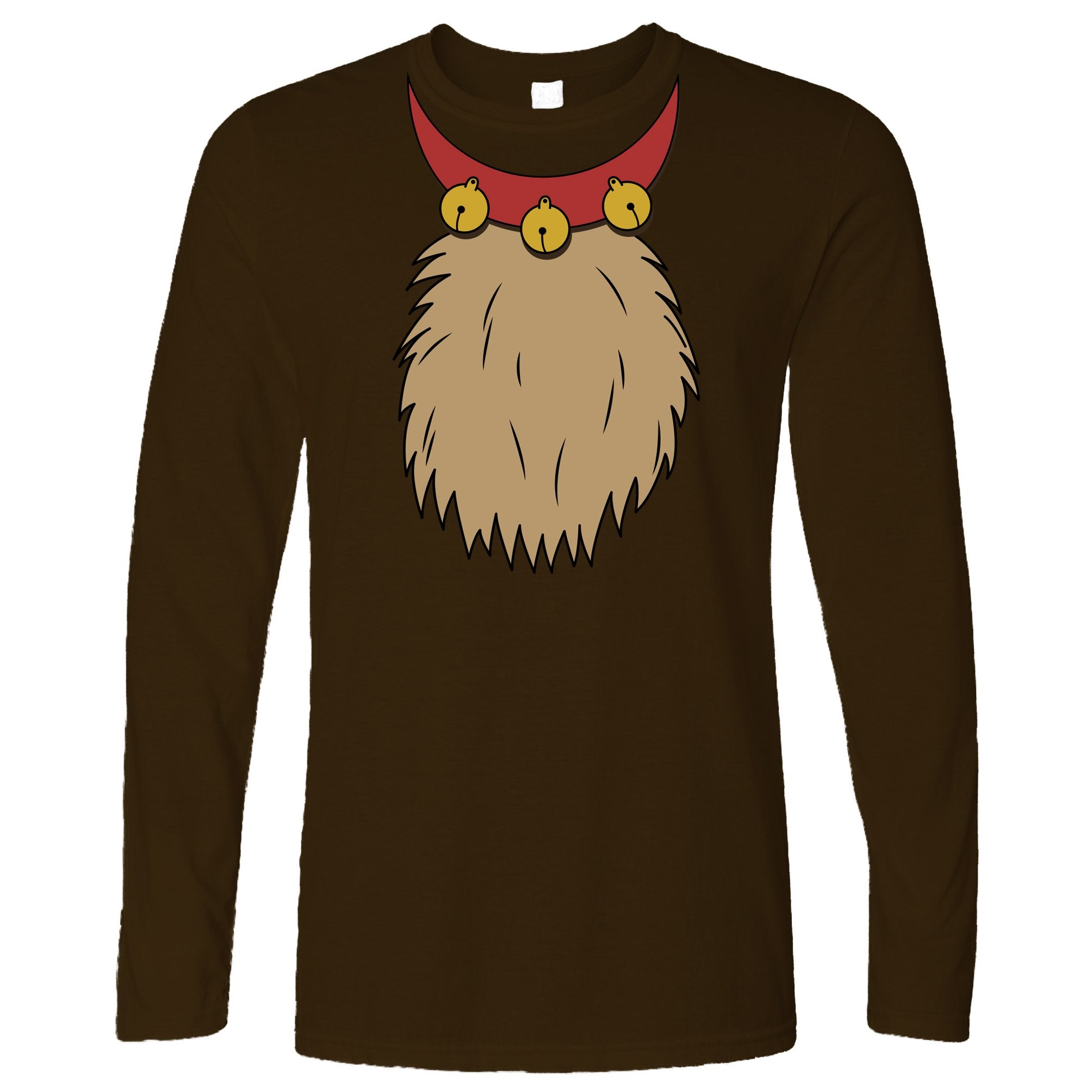 Novelty Christmas Long Sleeve Rudolf The Reindeer Costume T-Shirt
