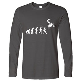 Sports Long Sleeve The Evolution Of Motocross Jumping