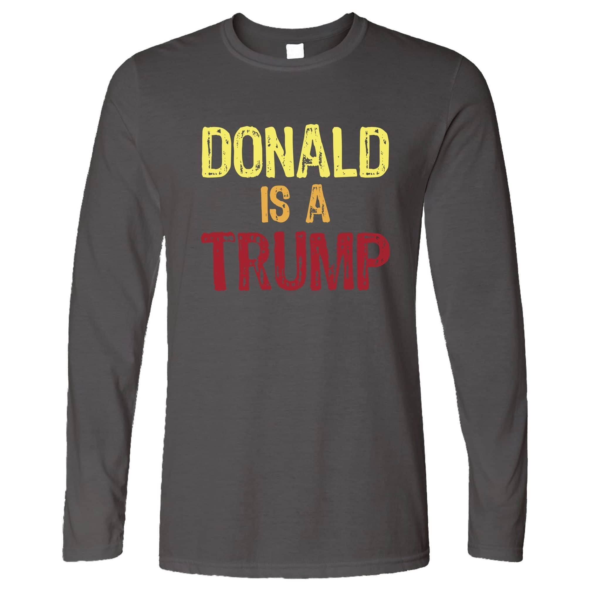 Donald Trump Long Sleeve American President Slogan T-Shirt
