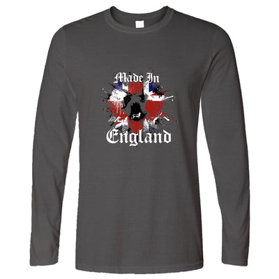 Made In England Long Sleeve British Bulldog T-Shirt