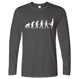 Sports Long Sleeve Evolution Of A Basketball Player