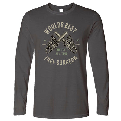 World's Best Tree Surgeon Long Sleeve T-Shirt