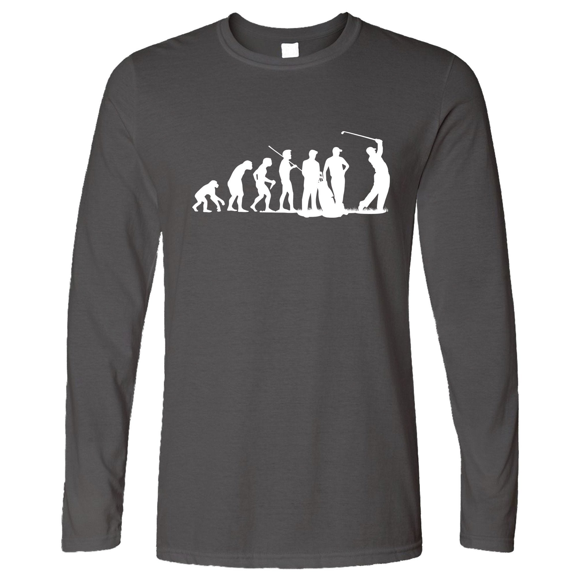 Sports Long Sleeve The Evolution Of A Golfer T-Shirt